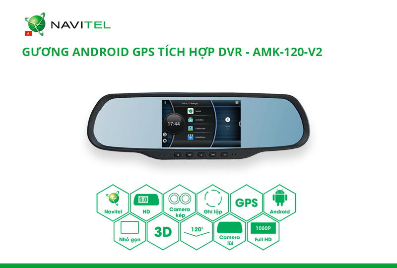 Rearview Mirror GPS