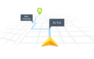 thông tin bản đồ cho lộ trình tối ưu