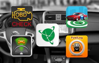 top 5 ứng dụng mobile cho người dùng ô tô