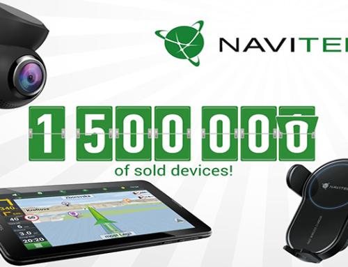 NAVITEL® đạt mốc 1,5 triệu thiết bị được bán ra