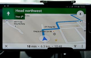 dẫn đường Google Maps